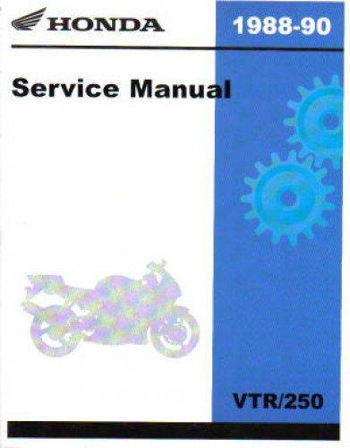 (61KV002 1988-1990 Honda VTR250 Interceptor Service Manual)