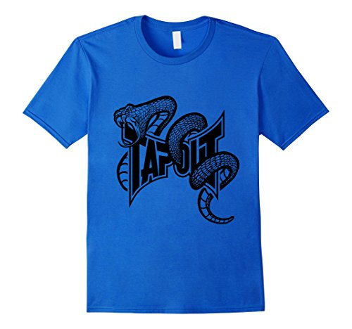 Mens Tapout Striking Viper MMA T-Shirt Large Royal Blue (T Shirt Tapout)