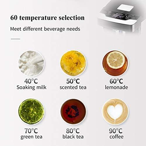 60-stufiger Thermo Pot-Heißwasserspender 4,5 Liter 1200 W schnell kochender Warmwasserbereiter, energiesparende Lichtsteuerung, Kindersicherung für Büros, Besprechungsräume, Küche