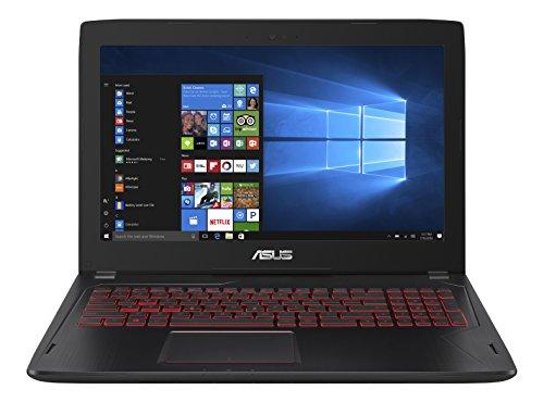 Asus FX502VM-DM113T 39,6cm (15,6 Zoll) FHD N-Glare Notebook (Intel Core i7-6700HQ, NVIDIA GTX1060, 8GB Arbeitsspeicher, 1TB256GB SSD, Win 10) schwarz