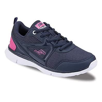 Jump 21163D Unısex Kadın Günlük Spor Ayakkabı Lacivertfuşya 36