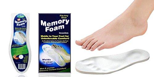 EGLEMTEK ortopédicas PLANTILLAS Zapatos de látex Memory Foam Zueco ergonómicos COMODE Alivia
