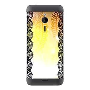 "Motivos Disagu Design Skin para Microsoft Nokia 230 Rückseite: ""Light Lace"""