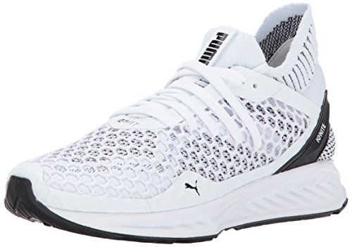PUMA Women's Ignite Netfit Wn, White Black, 11 M US
