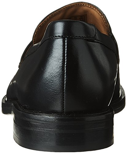 Mens Bostonian Mckewen Step Penny Mocassino In Pelle Nera