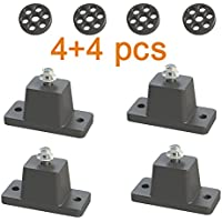 Anti-Vibration Shock Absorbing Rubber Mounting Bracket for Ductless Mini Split Air Conditioner Condensers