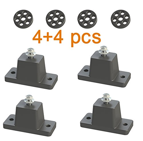 Anti-Vibration Shock Absorbing Rubber Mounting Bracket for Ductless Mini Split Air Conditioner (Mount Vibration Bracket)