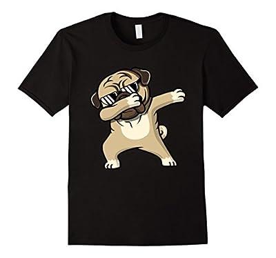Dabbing Pug Shirt - Cute Funny Dog Dab T-Shirts