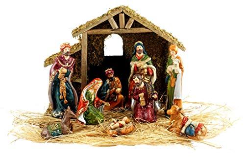 Nativity Set with Creche