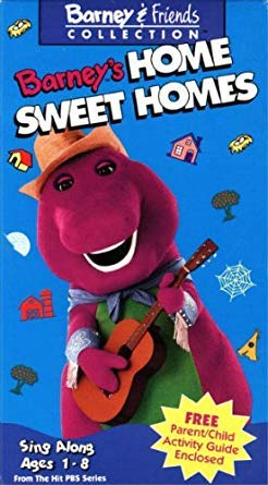 Barney & Friends Collection The Best of PBS - Barney's Home Sweet Home, Barney's Birthday, Barney Rhymes with Mother Goose, Barney's Manners (Barney Collection The Best Of Pbs Vhs)