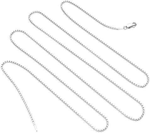 Details about  /Mirror Box 1.5 mm Gold Plated Over Sterling Silver Chain   .925 Pure Silver