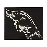 "NCAA Arkansas Window Graphic Sticker, 9"" x 5"" x 0.2"", Team Logo"