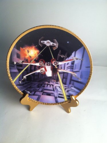 Art Collector Plate Collection (STAR WARS - RED FIVE X-WING FIGHTER COLLECTOR'S PLATE - THE HAMILTON COLLECTION)