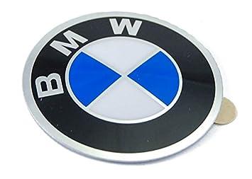 BMW genuino rueda tapacubos emblema adhesivo 45 mm: Amazon.es: Coche y moto