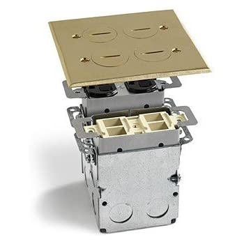 Lew Electric Swb 4 Pq Floor Box Quad Box W Duplex