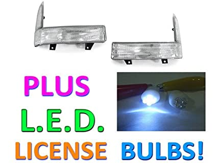 Ford F F Excursion Clear Corner Signal Lights Lamps Led