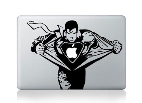 Super Man Chest MacBook Pro / Air sticker decal vinyl skin d