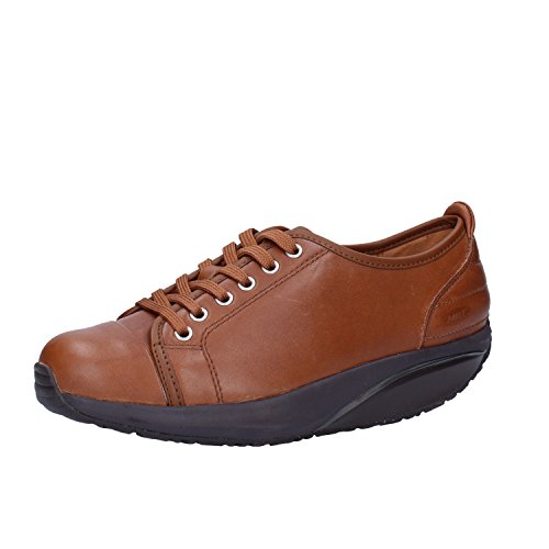 Marron EU 37 Cuir Mode Femme Sneakers Basket MBT Ywq788