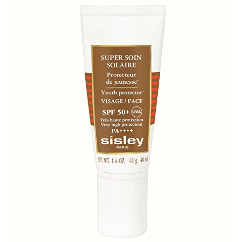 Sisley Super Soin Facial Sun Cream SPF50+ 40ml (PACK OF 4)