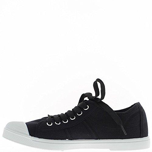 Levantamiento zapatillas cuña negros con tacón de 8cm - 41 C40qR