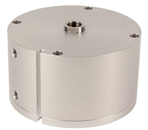 Fabco-Air-B-1221-X-E-Original-Pancake-Cylinder-Double-Acting-Maximum-Pressure-of-250-PSI-Switch-Ready-with-Magnet-4-Bore-Diameter-x-1-12-Stroke
