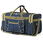 Travel Duffle Bags for Men Weekender Over Night Carry On BagLightweight Extra Large Oxford Duffel Gym Sturdy LuggageWater-prooffor Men & Women 65cm