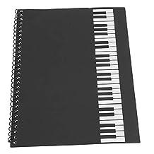 Bnineteenteam Libro de Papel del manuscrito Musical, 50 Hojas de Cuaderno de partituras en Blanco para músicos