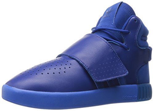 best authentic 29084 c035e adidas Originals Boys' Tubular Invader Strap J Sneaker, Collegiate  Royal/Collegiate Royal/Satellite, 4.5 M US Big Kid