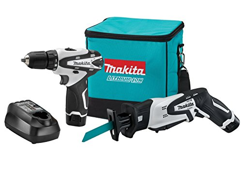 Makita LCT212W 12-Volt max Lithium-Ion Cordless 2-Piece Combo Kit (Discontinued by Manufacturer)