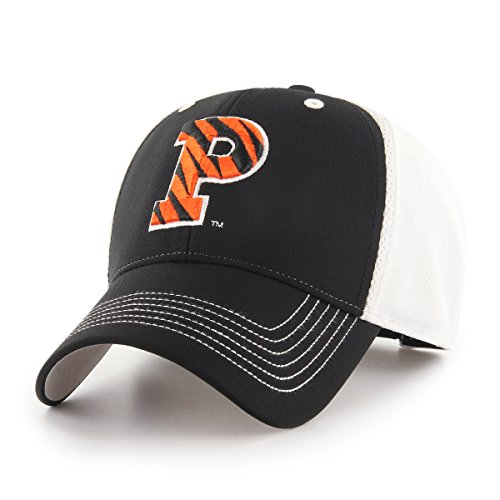 NCAA Princeton Tigers Sling OTS All-Star MVP Adjustable Hat, Black, One Size