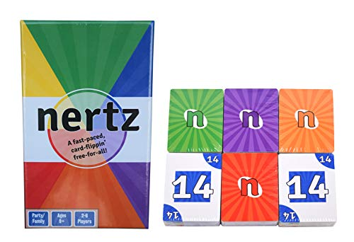 Nertz - A Speed Card Game - 6 Decks