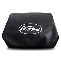 The universal grill cover features two adjustable straps which are easily adjusted to fit any Cal Flame grill.