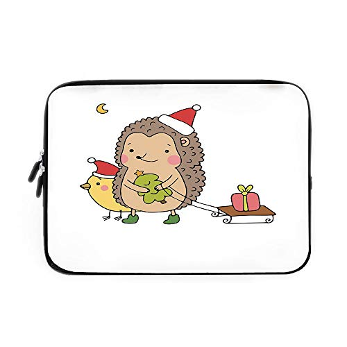Best Nava Christmas Tree Stands - Hedgehog Laptop Sleeve Bag,Neoprene Sleeve Case/Cartoon