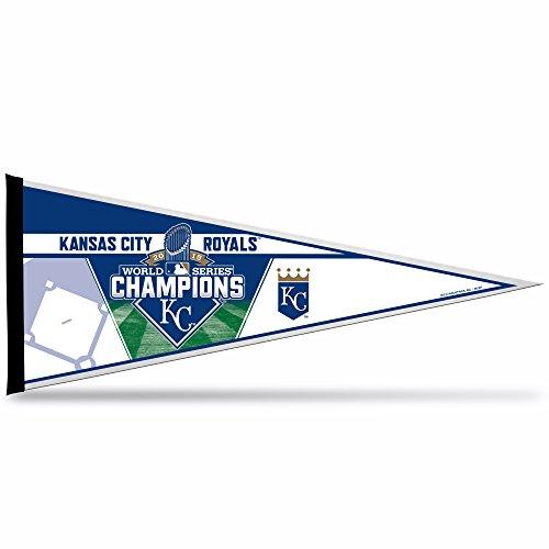 MLB Kansas City Royals 2015 World Series Champion Pennant, Blue, 12 x 30 ()
