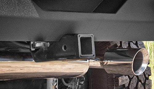 Rugged Ridge 11580.51 Black Receiver Hitch Kit with Wiring ...