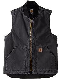 Men's Big & Tall Sandstone Vest Arctic Quilt Lined V02