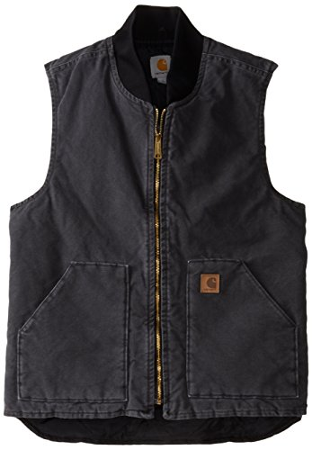 Carhartt Men's Big & Tall Sandstone Vest Arctic Quilt Lined,Shadow,Large Tall by Carhartt