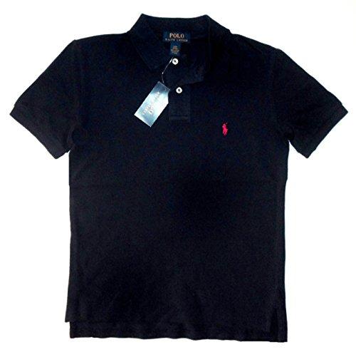 Ralph Lauren Big Boys Classic Short Sleeve Polo Shirt 14/16 French Navy