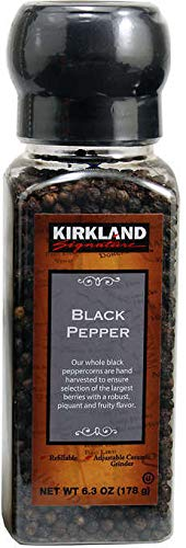 Kirkland Signature Himilayan Pink Salt and Tellicherry Black Pepper Combo Pack