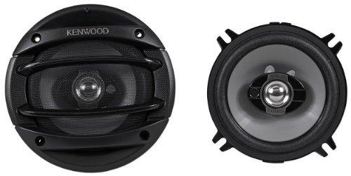 """Kenwood KFC-1364S 5.25"""" 5-1/4"""" 300 Watt 3-Way Coaxial Car Audio Speakers With Grilles by KENWOOD"""