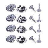 100 Unidades de plata Broche Base Holder Pins Badge Holder para DIY joyería haciendo encontrar decoración accesorios de ropa