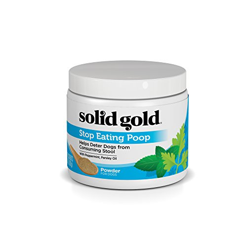 (Solid Gold S.E.P (Stop Eating Poop) Coprophagia Supplement Powder for Dogs, All Ages, All Sizes, 3.5 oz)