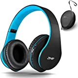 Bluetooth Over-Ear Headphones, Zihnic Foldable Wireless and Wired Stereo Headset Micro SD/TF, FM for Cell Phone,PC,Soft Earmu