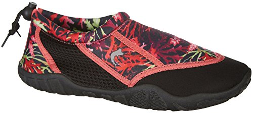Multi Water Reel Legends Oceania Womens Coral Black Shoes gqt0t4xwr