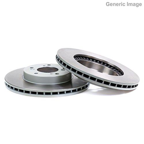 Genuine TRW Vented Brake Discs - Part Number DF6416: