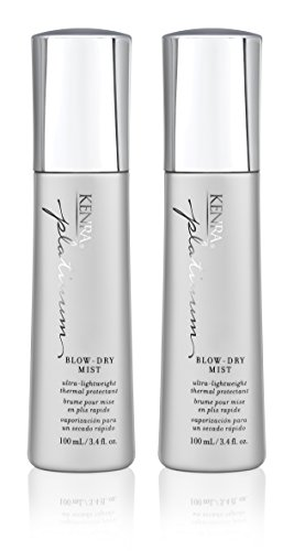 Kenra Platinum Blow-Dry Mist Spray, 3.4-Ounce (2-Pack)