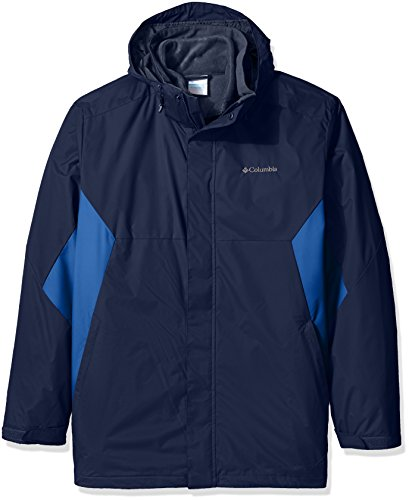 Columbia Men's Big-Tall Big & Tall Eager Air Interchange 3-in-1 Jacket, Collegiate Navy, Marine Blue, 4X (Collegiate Air)