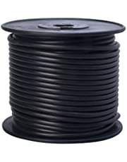 Coleman Cable 55671823 Primary Wire, 10 Gauge Bulk Spool, Black, 100'