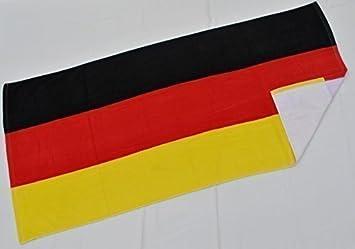 Toalla de playa con diseño de bandera de país, 100% algodón, alemania, 140 x 70 cm: Amazon.es: Hogar