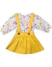 c8a18a6260b Amazon.com  12-18 mo. - Clothing   Baby Girls  Clothing